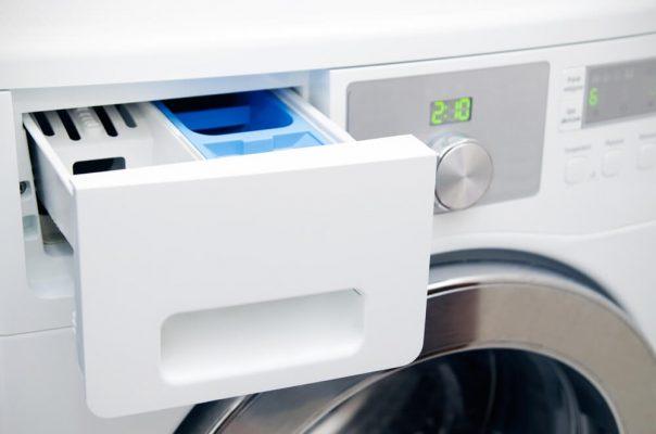 گرفتگی جاپودری ماشین لباسشویی, عیب یابی ماشین لباسشویی