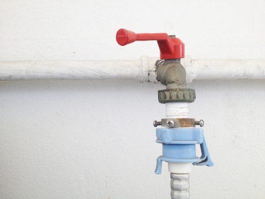شیر آب ورودی به ماشین لباسشویی