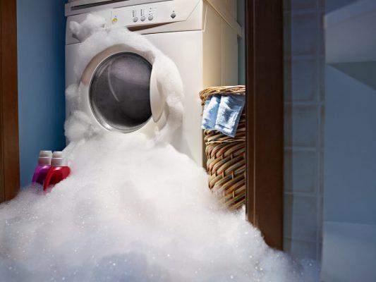 تخلیه نشدن ماشین لباسشویی, عیب یابی ماشین لباسشویی