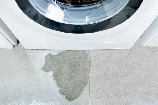 نشتی ماشین لباسشویی