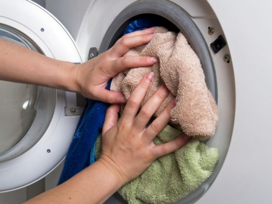 چیدن لباس درون ماشین لباسشویی , عیب یابی ماشین لباسشویی