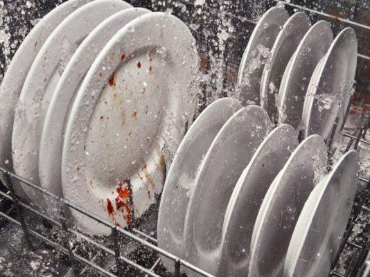چرخه پیش شستشو- نحوه کار ماشین ظرفشویی