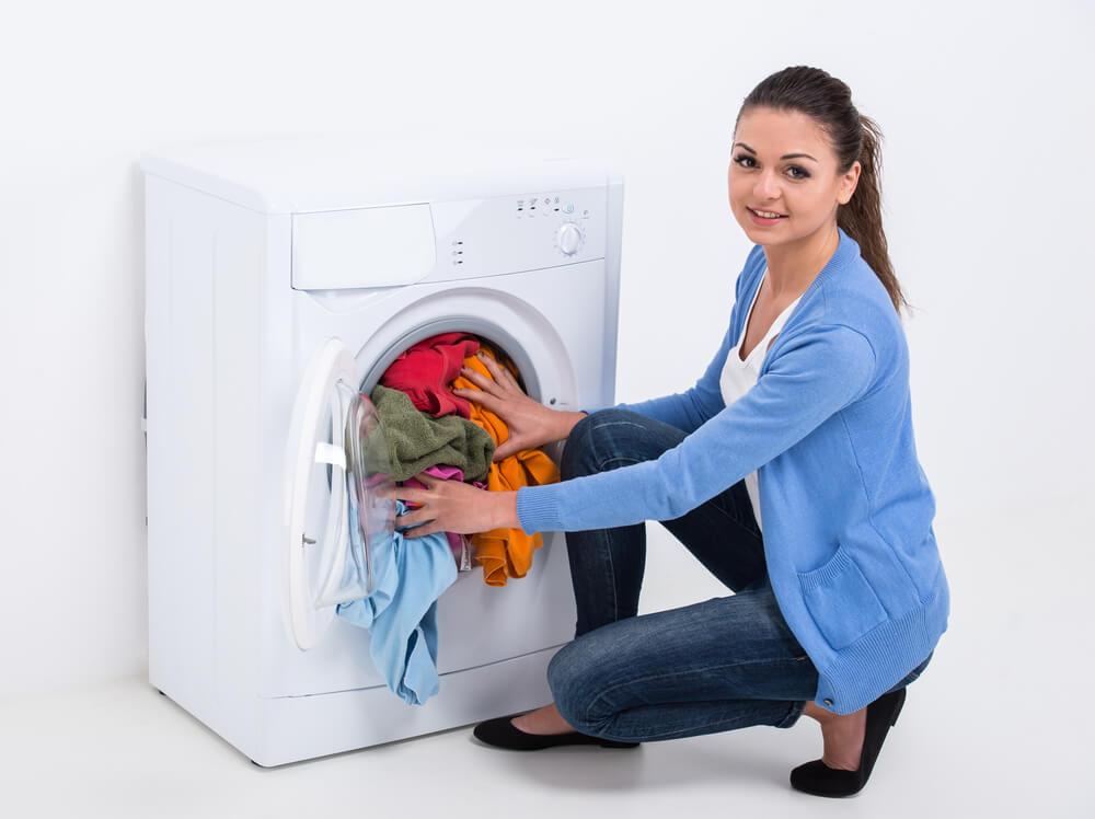 تفاوت انواع ماشین لباسشویی,ماشین لباسشویی درب از جلو