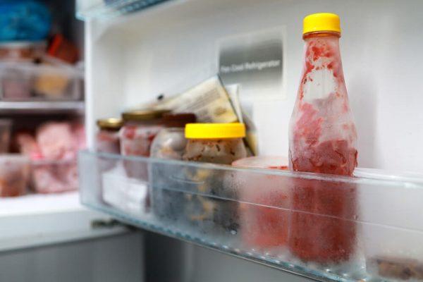 یخ زدگی مواد غذایی,عیب یابی یخچال فریزر